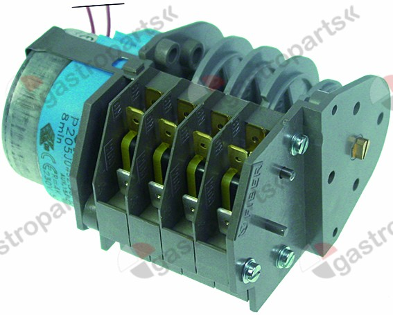 360.374, timer FIBER P20 engines 1 chambers 4 operation time 8min 230V