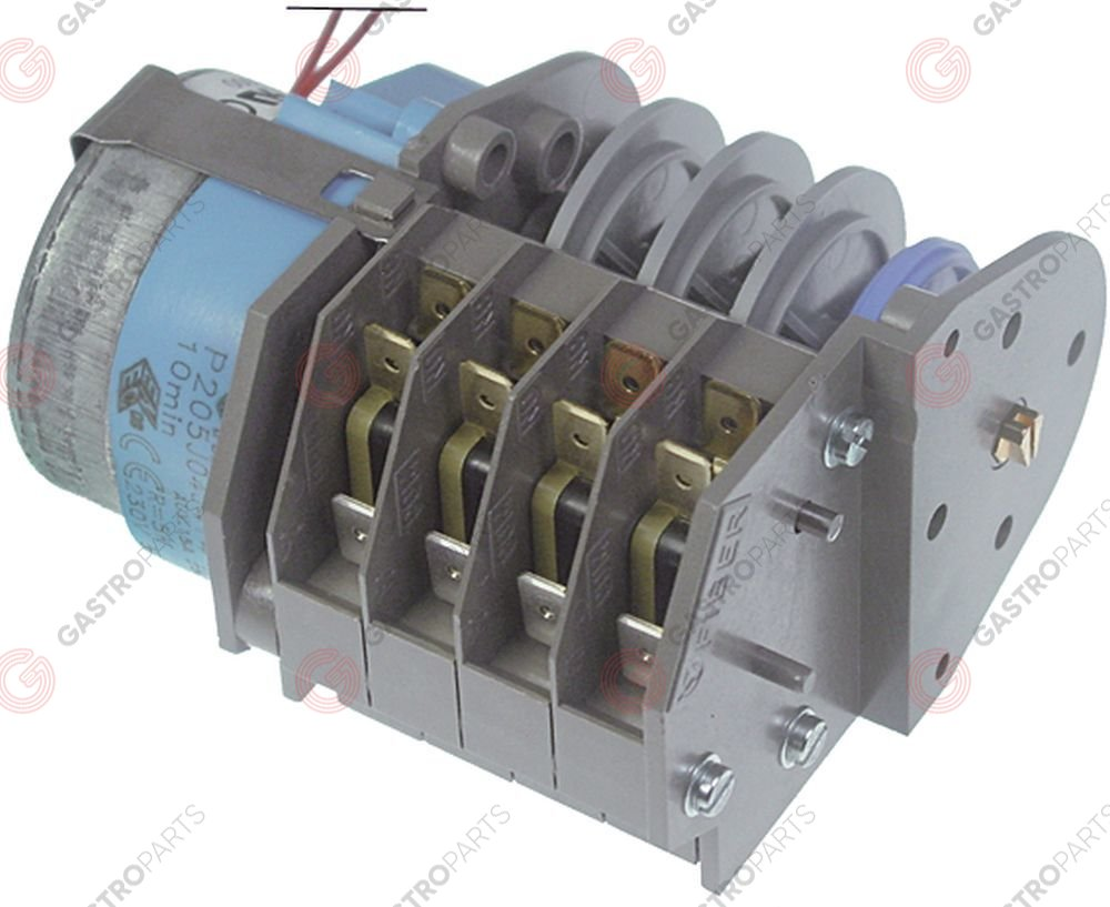360.375, Replaced by 360620 / timer FIBER P20 engines 1 chambers 4operation time 10min 230V manuf. no. P205J04J214