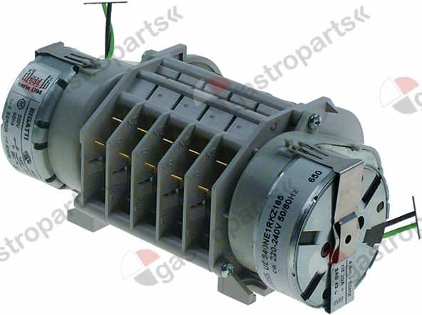 360.390, timer BIGATTI D94 engines 2 chambers 5 operation time 1min / 2min / 3min 230V 50Hz