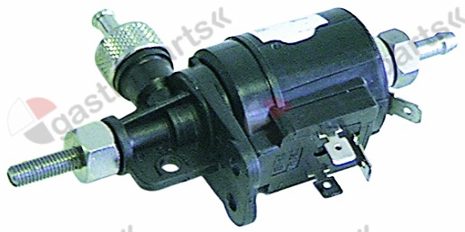 361.004, dosing pump inlet 5mm outlet 5mm 230V rinse aid duty cycle 25% type DB2 50Hz