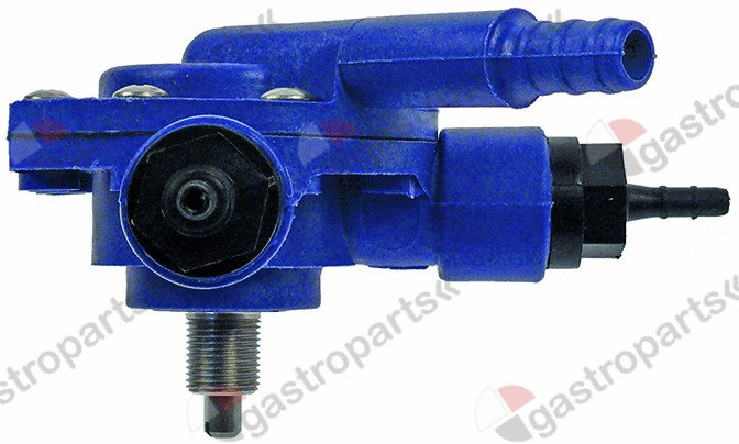 361.010, dosing pump rinse aid pressure connection ø 4x6mm suction connection ø 4mm
