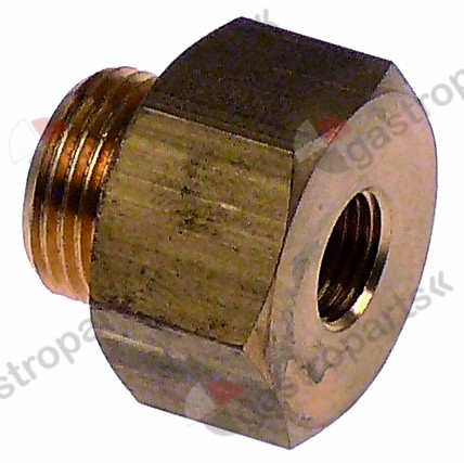 361.070, screw connection T1: M16x1.5 T2: M10x1 brass