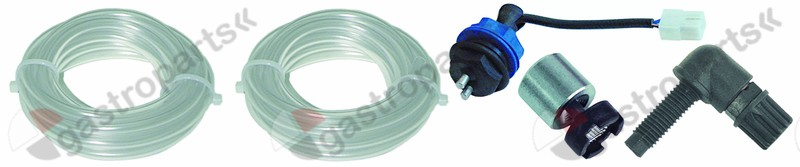 361.143, mounting set detergent hose type 4x6mm hose length 2m PVC