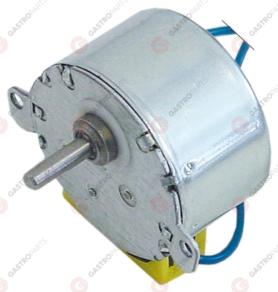 361.203, No longer available / gear motor 8W 230V for SEKO type MOD956UL/T60METEOR voltage AC 50Hz 20rpm