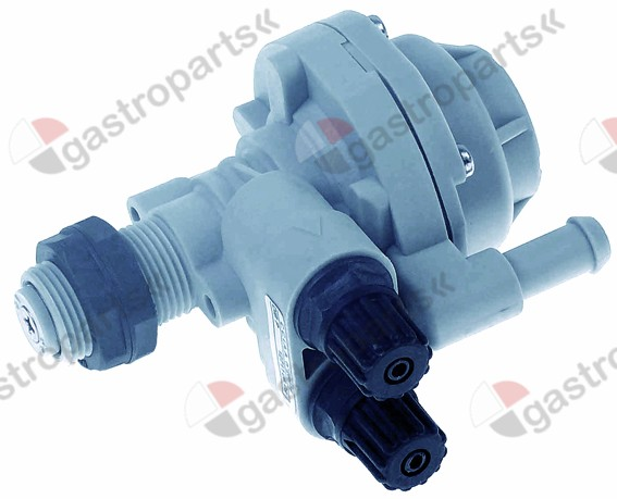 361.218, dosing pump type DIB3P rinse aid 0-3cm³ per strokel/h pressure connection ø 4x6mm