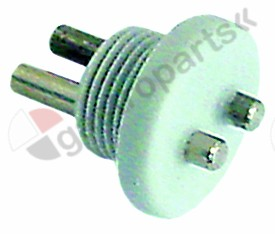 361.245, conductivity probe with thread mounting ø 17mm