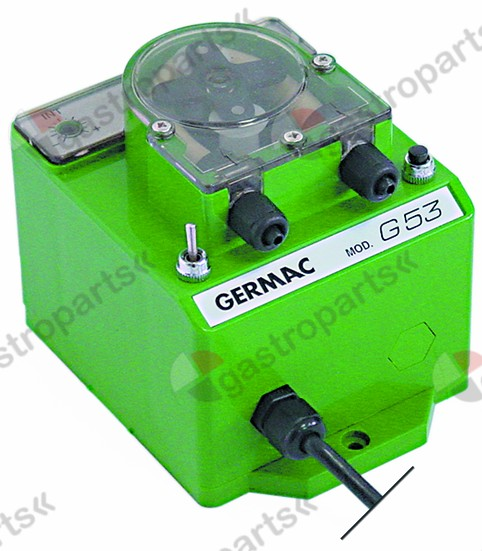 361.277, dosing pump GERMAC frequency regulation/speed control 9l/h 230 VAC