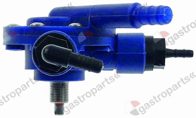 361.387, dosing pump rinse aid pressure connection ø 8mm suction connection ø 4mm