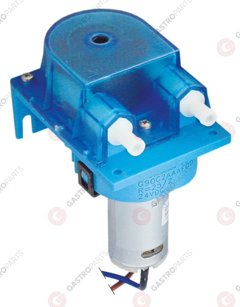 361.424, doseerapparaat zonder sturing 52l/h slangtype silicone BORES 24V spanning DC 11,5W