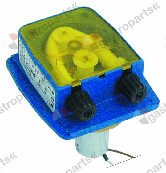 361.446, dosing pump 10l/h 24 VAC for detergent hose ø 4x6mm suction level 1,5m type SDN 3,5W