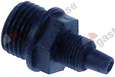 361.460, hose connector hose connector o 4mm
