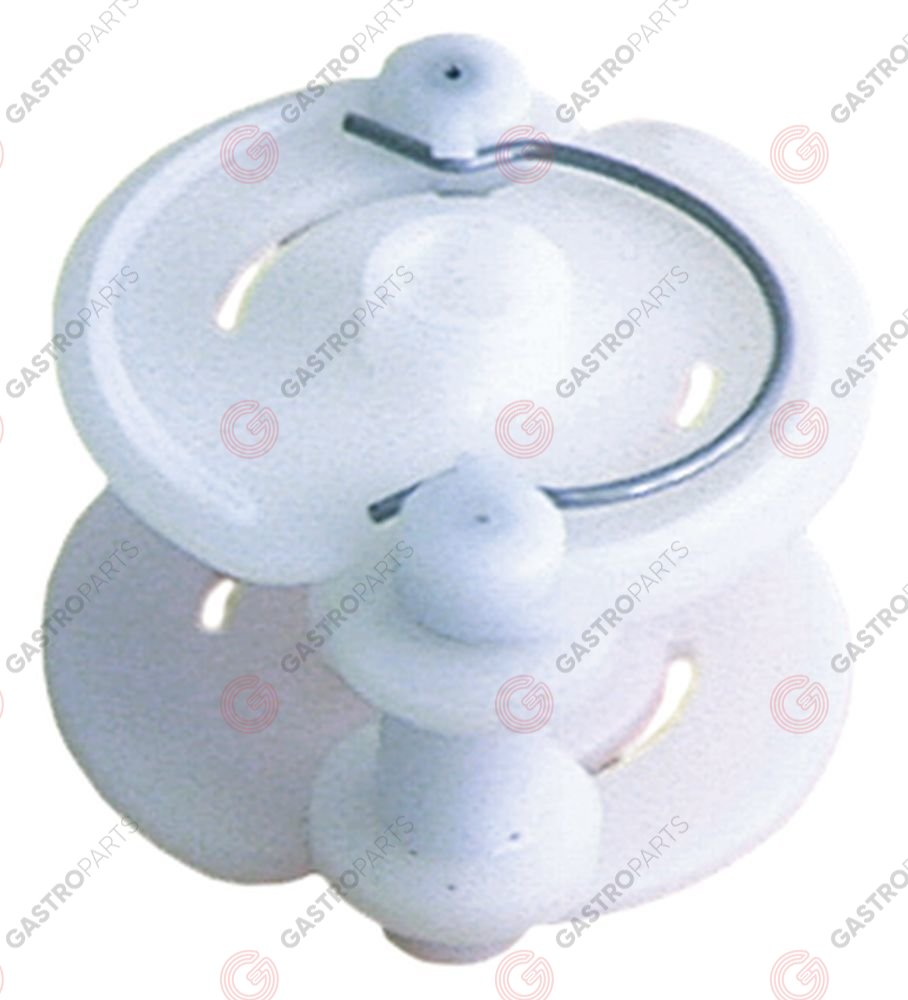 361.464, roller assembly rinse aid/detergent hose type Santoprene/silicone pump type Perios