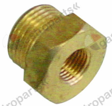 361.474, screw connection pressure connection brass