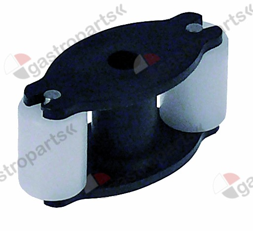 361.515, roller assembly rinse aid hose type silicone blac