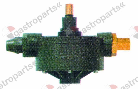361.520, dosing pump type 1000 rinse aid inlet 4x6mm outlet M10x1