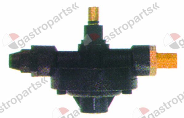 361.531, dosing pump type 2000 rinse aid inlet 4x6mm outlet M10x1