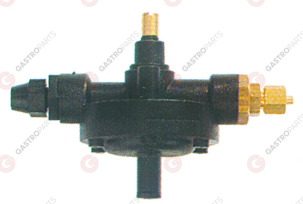361.535, dosing pump type 2000 rinse aid inlet 4x6mm outlet M10x1 suction connection ø 4x6mm
