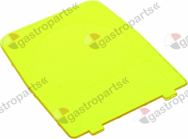 361.562, pump cover for dosing pump yellow