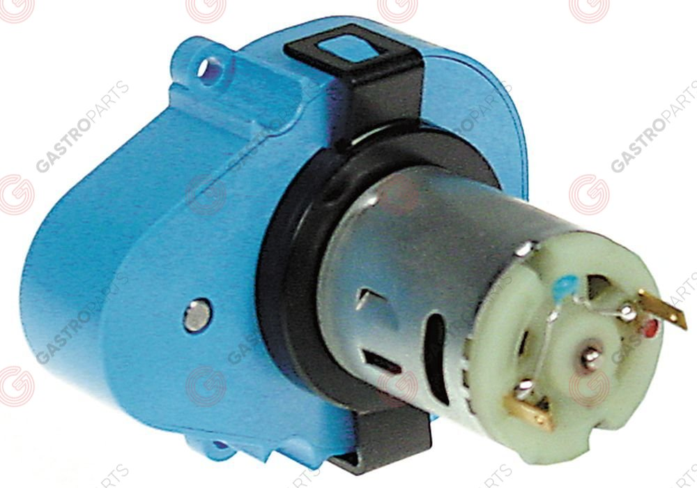 361.563, Replaced by 601138 / gear motor CROUZET type 82841042 12V voltage DCshaft ø 4mm L 65mm W 50mm H 51mm for oven