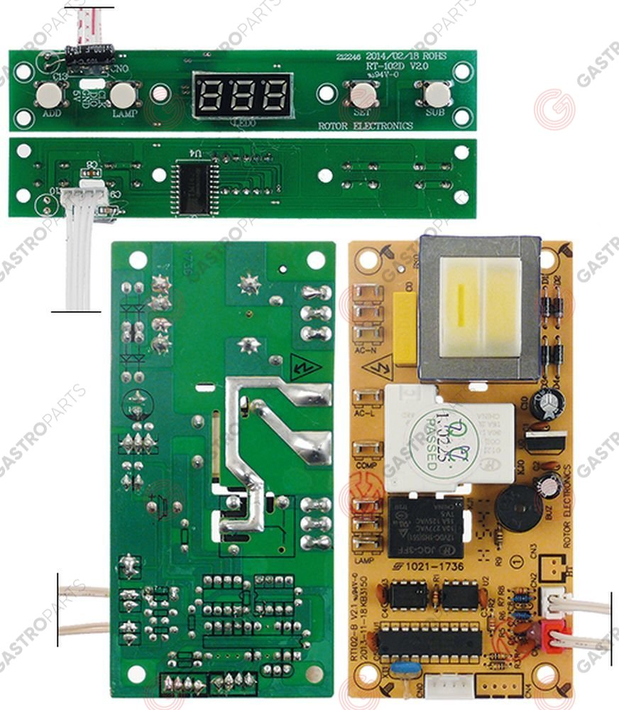 361.873, control PCB refrigerated show case GGC 1270/2270