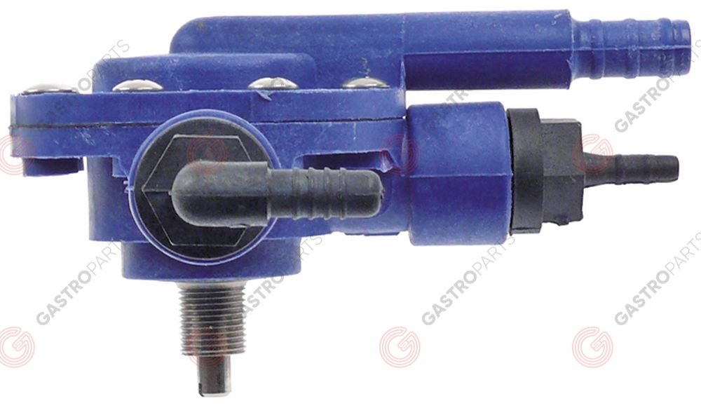 361.908, Doser rinse, aid pressure connection ø 7 mm, suction connection ø 5 mm