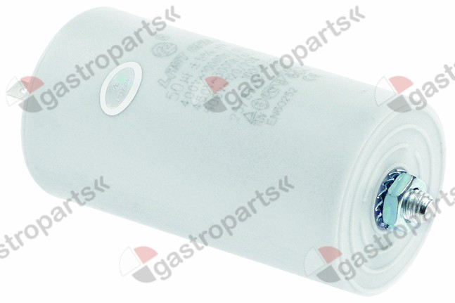 365.024, operating capacitor capacity 50µF 400V tolerance 5% 50/60Hz