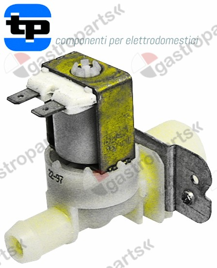 370.018, solenoid valve single straight 230V inlet 3/4