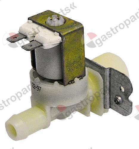 370.032, solenoid valve single straight 24V voltage AC inlet 3/4