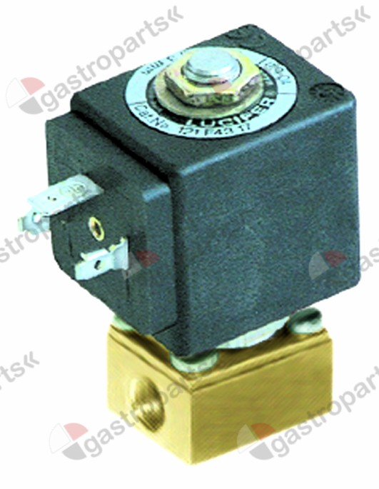 370.071, solenoid valve 2-ways 230 VAC connection 1/8