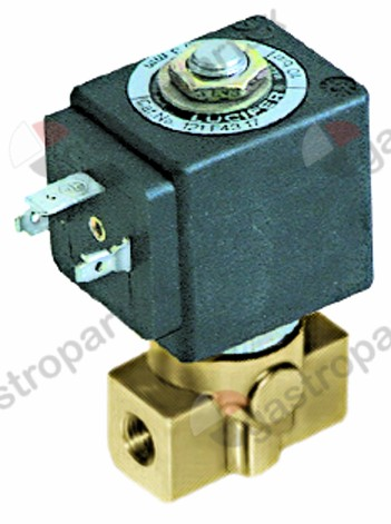 370.072, solenoid valve connection 2-ways 230 VAC connection 1/8