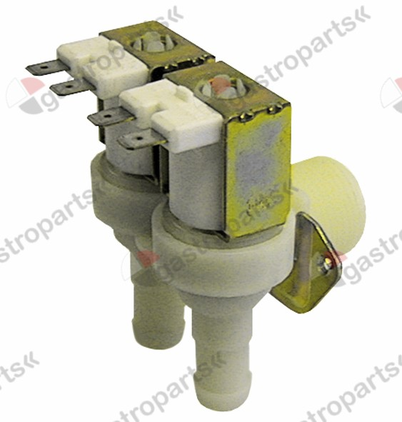 370.110, solenoid valve double angled 24V voltage AC inlet 3/4