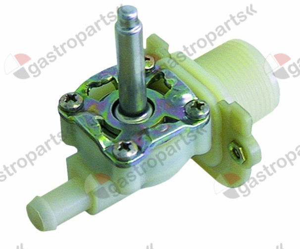 370.133, solenoid valve body single straight 230V inlet 3/4