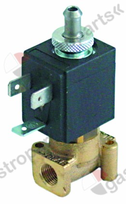 370.166, No longer available / solenoid valve brass 3-ways 24V voltage DCconnection 1/8
