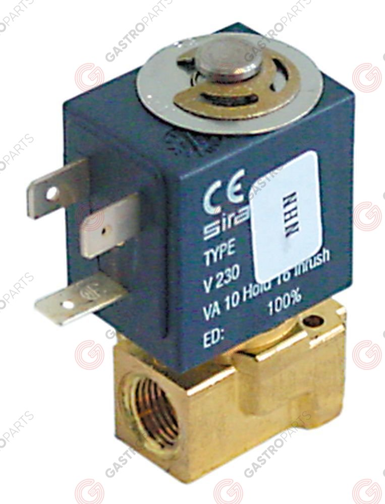 370.168, No longer available / solenoid valve 230 VAC