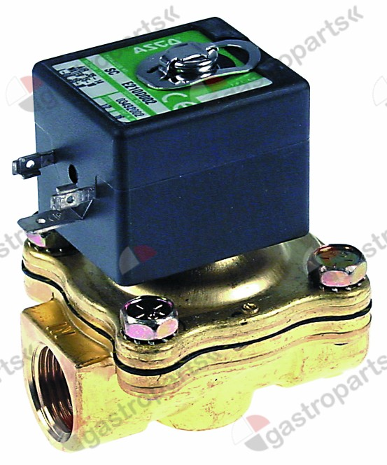 370.197, solenoid valve 2-ways 230 VAC connection 1/2