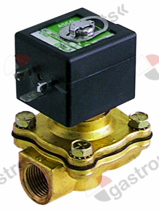 370.199, Replaced by 370786 / solenoid valve 2-ways 230 VAC connection 1/2