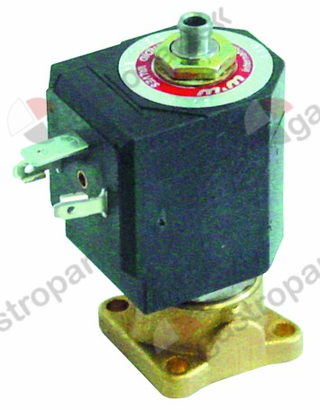 370.207, No longer available / solenoid valve 3-ways 230 VAC 837 DN 1,5mmslide-on receptacle DIN -20° up to 130°C M&M