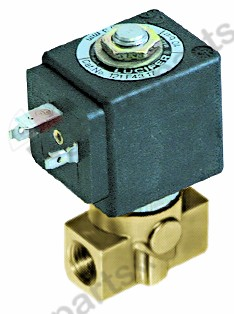 370.226, solenoid valve 2-ways 24 VAC connection 1/4