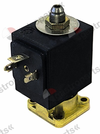 370.227, solenoid valve 3-ways 24VDC DN 1,6mm slide-on receptacle DIN 0 up to +130°C SIRAI