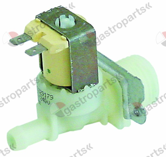370.244, Replaced by 373017 / solenoid valve single straight 230V inlet 3/4