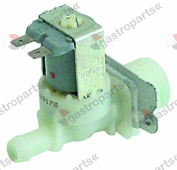 370.245, solenoid valve single straight 24V voltage AC inlet 3/4
