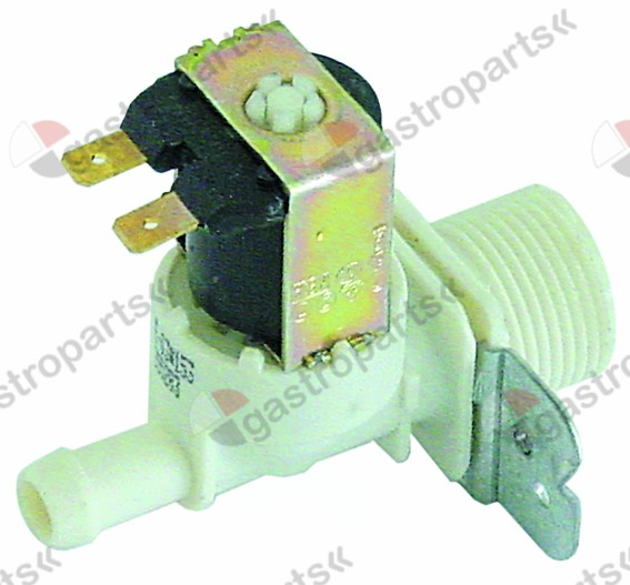 370.251, solenoid valve single straight 230V inlet 3/4