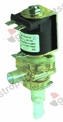 370.301, solenoid valve special 220-240V voltage AC outlet 10,5mm MÜLLER suitable for ANIMO inlet 12mm