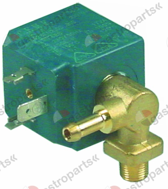 370.338, solenoid valve 2-ways 230 VAC connection 1/8