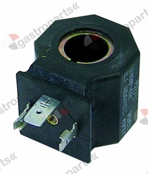 371.025, solenoid coil M&M 24V voltage AC 12VA 50Hz coil type 82M seat ø 15mm