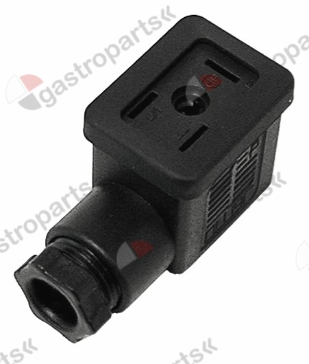 371.091, power socket plug type DIN 43650B small