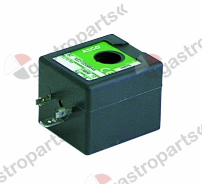 371.113, solenoid coil Asco 230V voltage AC 50Hz coil type 400526-117 seat ø 16mm