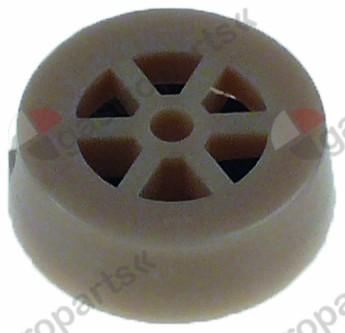 371.225, reducer TP flow rate 16l/min light brown tolerance ±15%