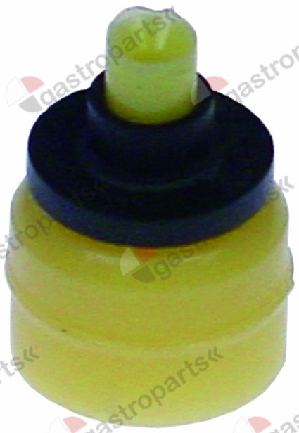 371.237, reducer TP flow rate 2,5l/min yellow tolerance ±25%