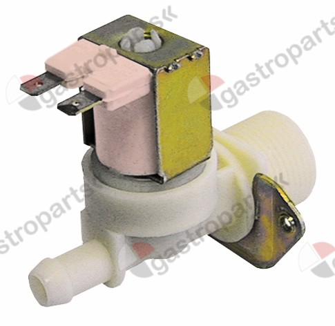 372.017, solenoid valve single straight 230V inlet 3/4